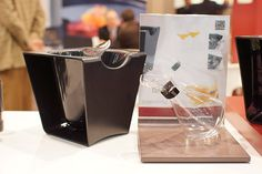 Check-out Peugeot's Wine Bucket and Reseda Decanter, new in 2013.