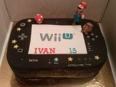 Tarta Wii U tres chocolates