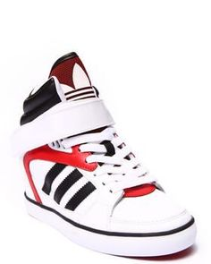 fd7381b7b1c Sporty Outfits : Description Check out these Amberlight Up wedge sneakers  by Adidas! Classic colors