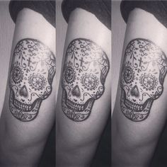 #SugarSkullTattoo #MexicanSkull #SugarSkull