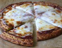 This cassava flour pizza crust recipe is easy to make, holds together well and has the doughy texture of traditional pizza.