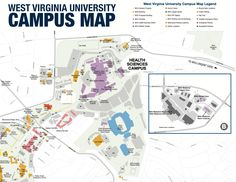 37 best Tour WVU images on Pinterest | Campus map, The visitors and ...