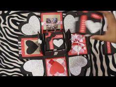 Explosion Box | DIY Explosion Box Tutorial | Explosion Box gift idea for boyfriend | Handmade Gift | – Birthday Boy Presents