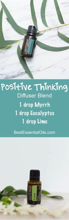 Positive Thinking doTERRA Diffuser Blend