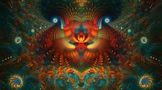 My near death experiences have had this kaleidoscopic quality with colors and images - endless and full of sacred geometry.