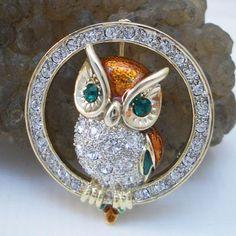 Owl Ring Pin