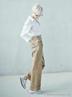 ファッション ファッション in 2020 Fashion Pants, Love Fashion, Fashion Outfits, Womens Fashion, Looks Style, Style Me, Marlene Hose, Pantalon Large, Mein Style