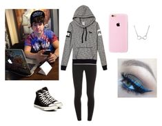 """""""Jc Caylen Girl Outfit #7"""" by maddiemae121999 ❤ liked on Polyvore featuring moda, Splendid e Converse"""