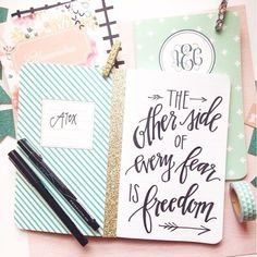 Motivational quotes and hand lettering by artists on the May Designs blog! #mdmotivationmonday