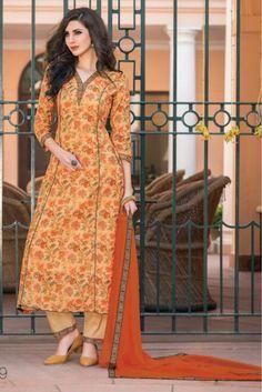 Churidar Neck Designs for Cotton Materials Model Catalogue Churidar Neck Designs, Kurta Designs Women, Salwar Designs, Neck Designs For Suits, Dress Neck Designs, Blouse Designs, Dress Design Patterns, Kurta Patterns, Sewing Patterns