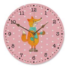 30 cm Wanduhr Fuchs Keks aus MDF  Weiß - Das Original von Mr. & Mrs. Panda.  Diese wunderschöne Uhr von  Mr. & Mrs. Panda wird liebeveoll in unserem Hause bedruckt und an sie versendet. Sie ist das perfekte Geschenk für kleine und große Kinder, Weltenbummler und Naturliebhaber. Sie hat eine Grösse von 30 cm und ein absolut LAUTLOSES Uhrwerk.    Über unser Motiv Fuchs Keks  Die Fox-Edition ist eine besonders liebevolle Kollektion von Mr. & Mrs. Panda. Jedes Motiv ist - wie immer bei Mr…