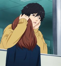 Mabuchi Kou x Yoshioka Futaba - Ao Haru Ride Manga Anime, Anime In, Manga Art, Ao Haru Ride Kou, Futaba Y Kou, Futaba Yoshioka, Anime Shop, Couple Manga, Blue Springs Ride