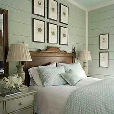 Restful bedroom!!! Bebe'!!! Love the artwork!!!