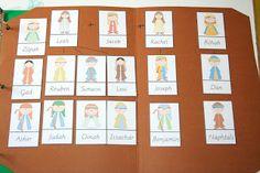Bible Activity Book: Abraham's Descendants Family Tree FREE PRINTABLE!!