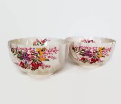 Vintage Spode China Cranberry-Rice by MerrilyVerilyVintage on Etsy