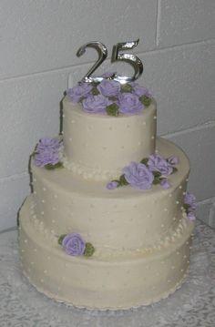 25th anniversary cakes | 25th Anniversary Cake
