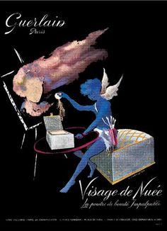 Guerlain Visage de Nueé face powder (1959)