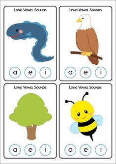 Clip It! - Long Vowel Sounds {FREE}