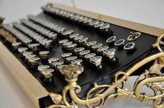 Extreme steampunk keyboard.