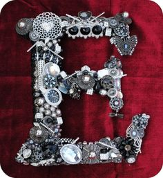 Isn't this amazing!! Think I might do one for the BF in nuts and bolts and car things- very manly!