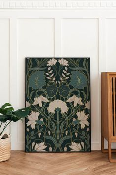 William Morris Wallpaper, William Morris Art, Morris Wallpapers, William Morris Patterns, Mosaic Wall Art, Abstract Wall Art, Living Room Decor Etsy, Colorful Wall Art, Wall Art Prints