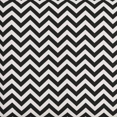 Sharpen any room with a chevron pattern.