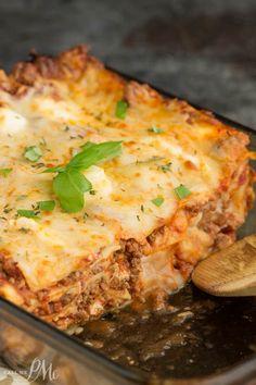 ... Lasagna on Pinterest   Turkey Lasagna, Ground Turkey and Lasagna