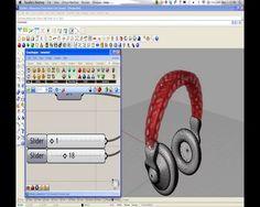 parametric | art - generative headphone design with Grasshopper on Vimeo