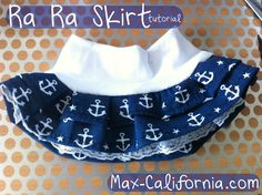 Ra Ra Skirt Tutorial by Max California {for all ages!}
