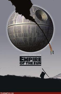 Star Wars movie poster mashups!