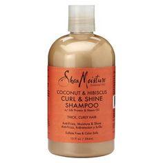 SheaMoisture Coconut & Hibiscus Curl & Shine Shampoo - 13 fl oz