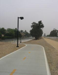 Pacific Electric Trail  ~ Rancho Cucamonga, CA  bicycle, walk, horseback