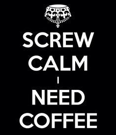 Koffie...