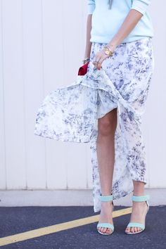 Ocean Blue Outfit Inspiration