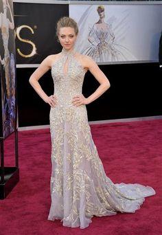 Amanda Seyfried Oscars -Alexander Mc Queen