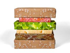 Gift Couture Cheeseburger | Packaging of the World: Creative Package Design Archive and Gallery