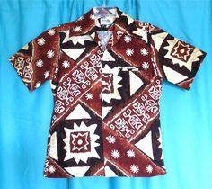 """KEONE SPORTSWEAR"" cotton Tribal Shirt, Aloha Shirt, Quilt Patterns, Hawaiian, Sportswear, Short Sleeve Dresses, Maui, Cotton, Shirts"