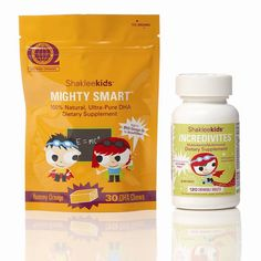 Protect your little ones with Shaklee all natural kids vitamins/minerals and 100% natural, ultra-pure DHA...one of the most important omega-3 fatty acids in the brain and eyes!