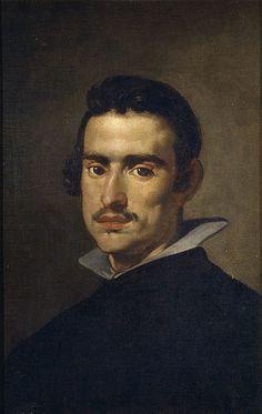 с.1623.Diego Velázquez (1599- 1660) Retrato de hombre joven,oil on canvas.55.5х38 cm.Prado Museum.
