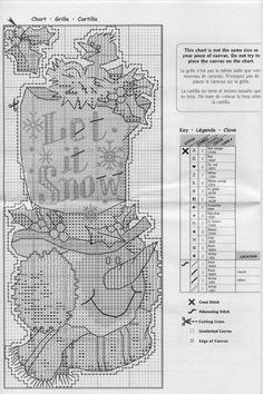 Cross Stitch Stocking, Xmas Cross Stitch, Cross Stitch Letters, Cross Stitch Needles, Cross Stitch Baby, Cat Cross Stitches, Cross Stitching, Cross Stitch Embroidery, Embroidery Patterns