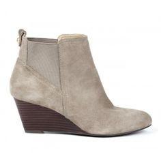 Addison ankle bootie - Taupe