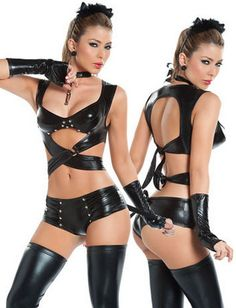 Aliexpress.com : Buy Bandage Lady Gaga Catwoman Catsuit Pole Dance Costume Lingerie Suit Faux Leather Teddy Women Black Performance Outfit halloween from Reliable Bandage Lingerie With Glove Pants Catwoman Lady Gaga Pole Dance Costume Jumpsuit halloween costume Free Shipping suppliers on Shenzhen Women's cosmetics trading Co,LTD $15.99