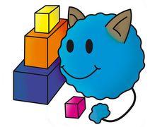 #DiseñoPersonaje Proyecto: Ago-go juego interactivo para niños. Personaje: MATY. Descripción: Este ago-go es habil con los números y le gusta construir torres. By: Sandra Trujillo