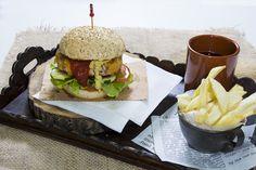 Hamburguesa de pollo con manzana y cheddar - La Cocina de Frabisa La Cocina de Frabisa
