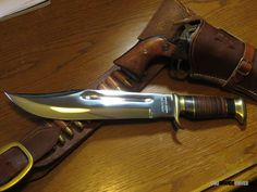 Nothing like an Outback Bowie knife by Down Under Knives to complete your old west cowboy shooting rig.
