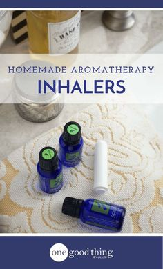 Learn how to make 5 different aromatherapy inhalers. These use the power of essential oils to relieve symptoms of sinus issues, sleep problems, and more!