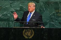 With Combative Style and Epithets Trump Takes America First to the U.N.