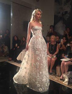 @ReemAcra Fall 2016 First Look   Brides.com