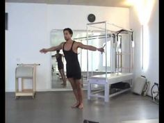 Really nicely done classic Pilates arm series by Bluebird Pilates Munich