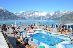 Holland America Zuiderdam in Alaska.